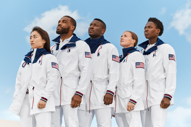 Ralph Lauren prioritize sustainability in Olympic closing ceremony uniforms