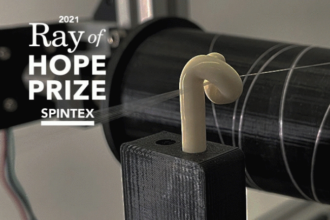 Spider-inspired silk start-up won $100,000 Ray of Hope prize