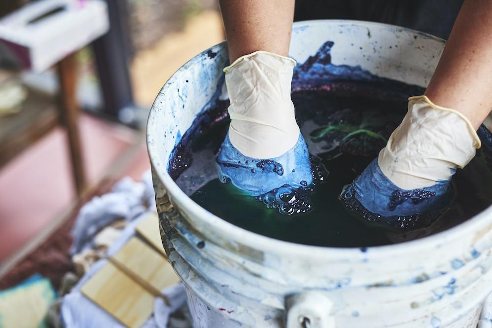 Scientists produce sustainable indigo dye using bacteria